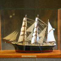 ÖM 15283 - Skeppsmodell