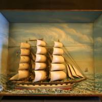 ÖM 15289 - Skeppsmodell
