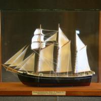 ÖM 15282 - Skeppsmodell
