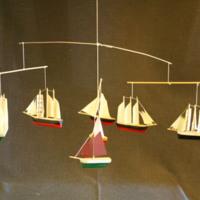 ÖM 15287 - Mobil med små skeppsmodeller